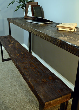 Prima Industrial Reclaimed Wood Bench