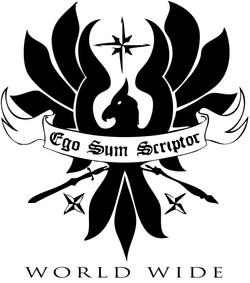 ego sum scriptor WORLD WIDE logo