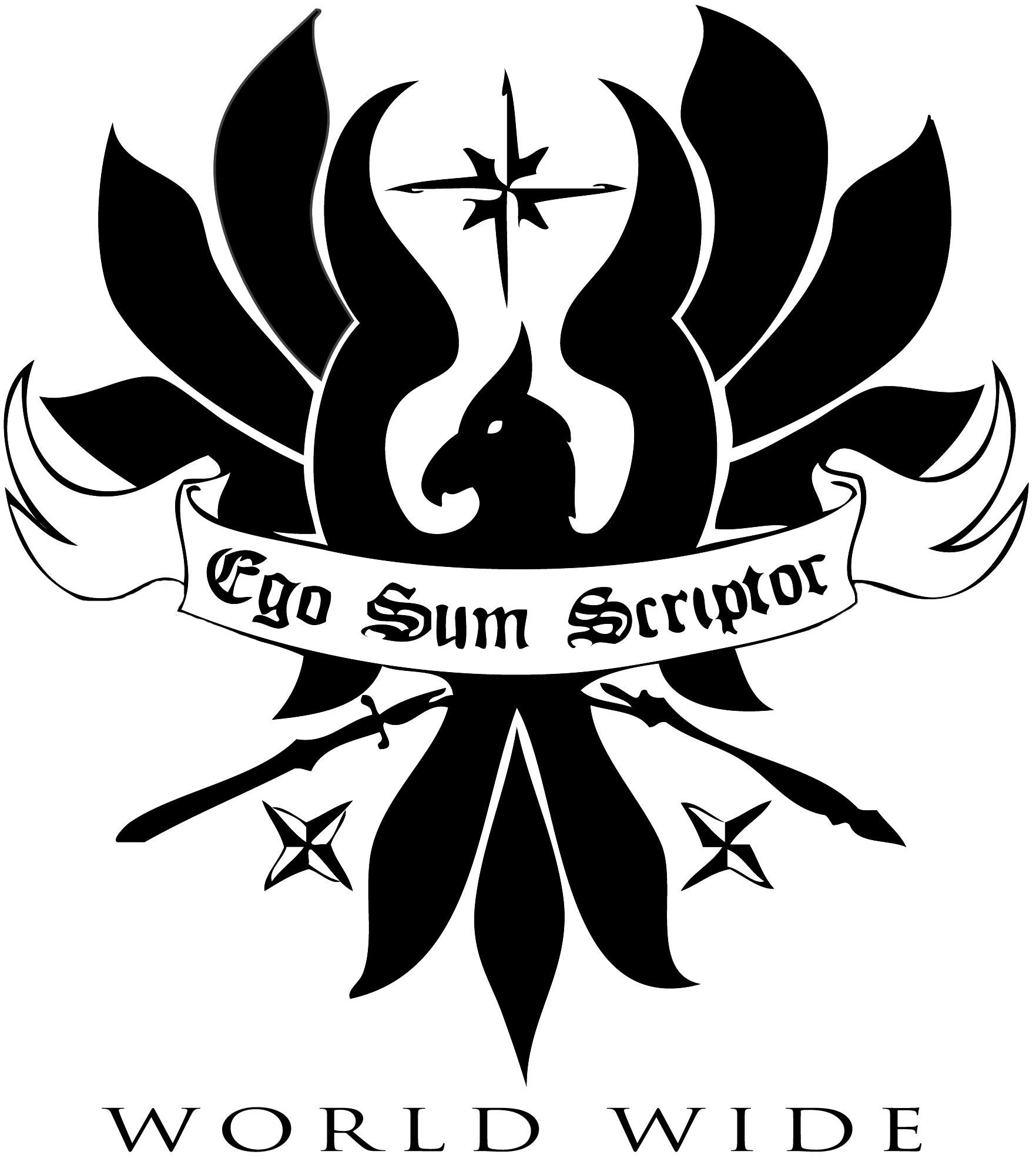 ego sum scriptor logo
