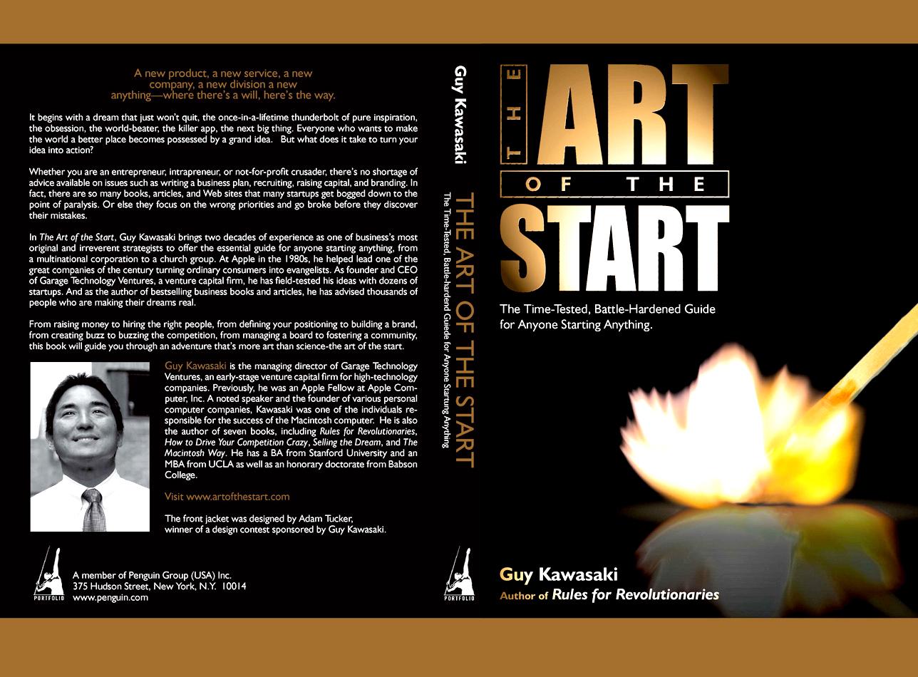 Art of the Start Cover, Guy Kawasaki