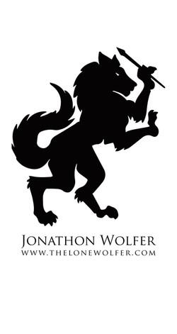 lonewolferlogoiphonebackground