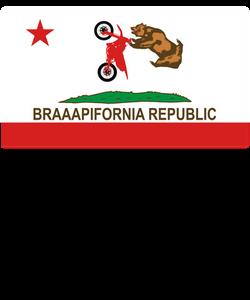 Braaapifornia Republic T-shirt