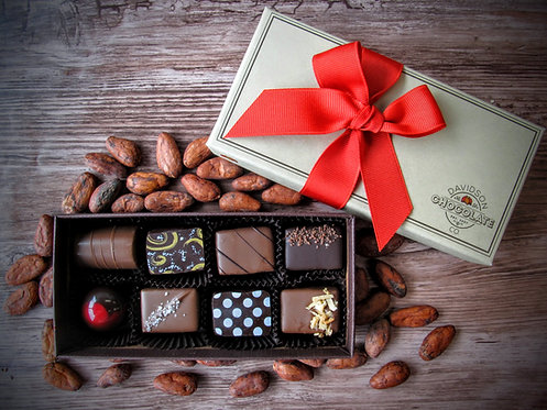 Chocolatier's Selection - 8 Piece Box