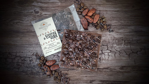 Coffee Beans & Cacao Nibs Bar