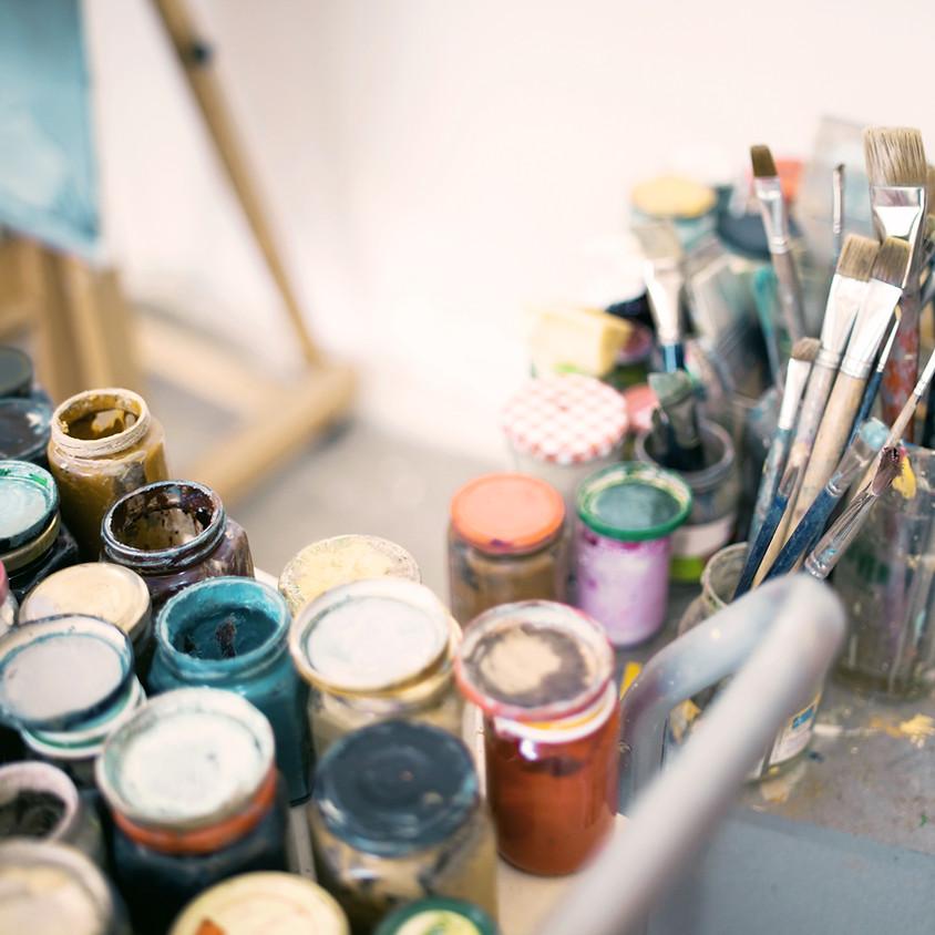 May Painting Parties: Cartoons!