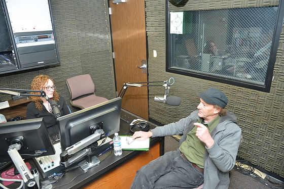 Maurice Conway at Radio WEKU Kentucky