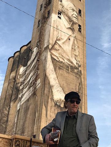 MauriceConway in Nashville at Guido Van Helten's (Brim Silo) Mural i