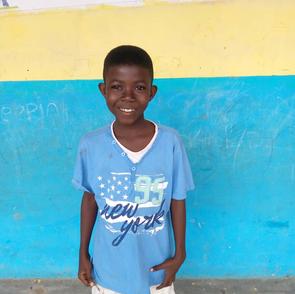 Meet our first three children at Divine Kids Academy in Jukwa