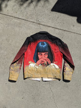 My hand-painted jacket for Chris Fulcher