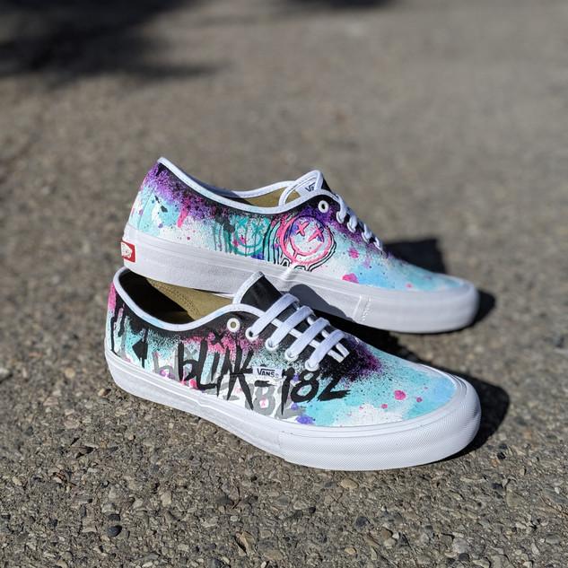 Custom Blink-182 Vans