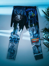 My hand-painted jeans for Chris Fulcher