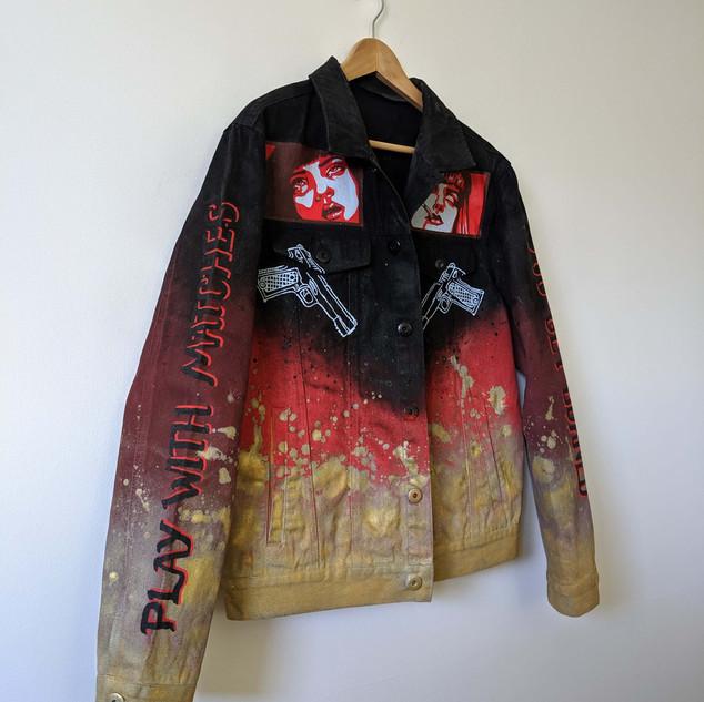 Pulp Fiction themed jacket