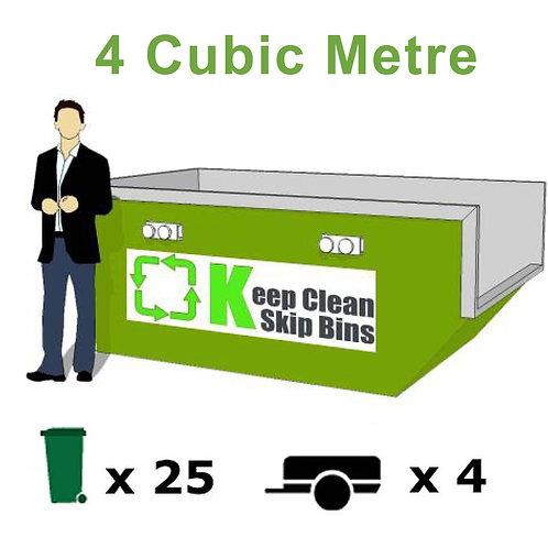 4 Cubic Metre