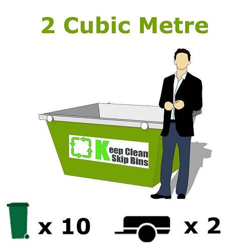2 Cubic Metre