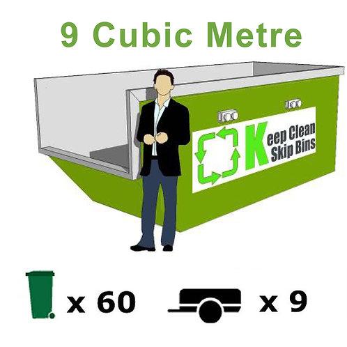 9 Cubic Metre