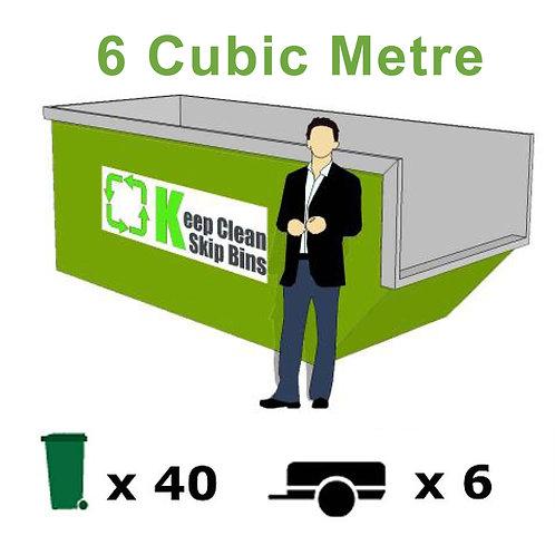 6 Cubic Metre