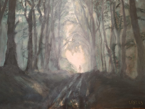 Light in the forest, 2020