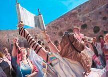Holding the Torah, 2018