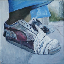 Povery and shoes series, (6 of 10), 2018