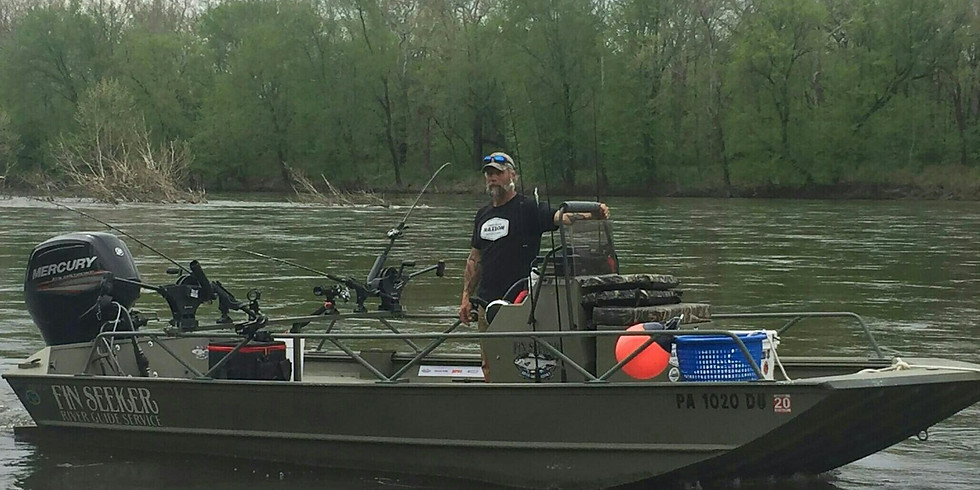 Shad Fishing the Delaware River