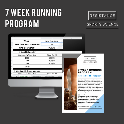 7 Week Running Program