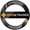 Rehab Trainer Approved Facility, accrdited courses, EAA, exercise rehab, physio near me, massage near me, sports physio