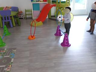Achat de matériel de motricité pour les enfants.
