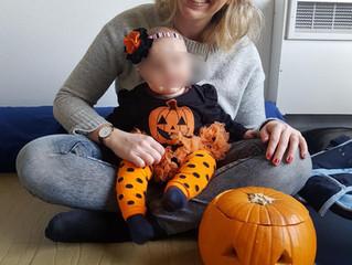 Pause parents enfants Halloween