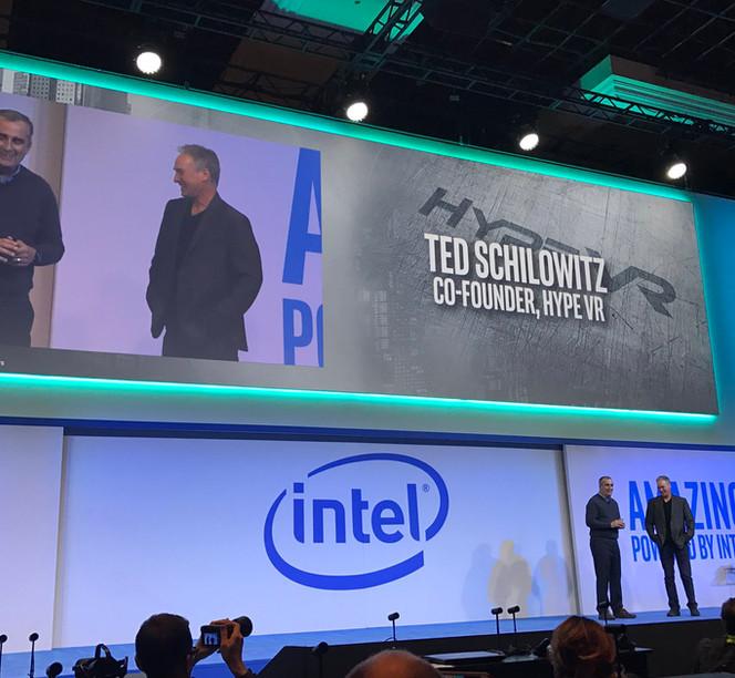 Intel +HypeVR Keynote Debut