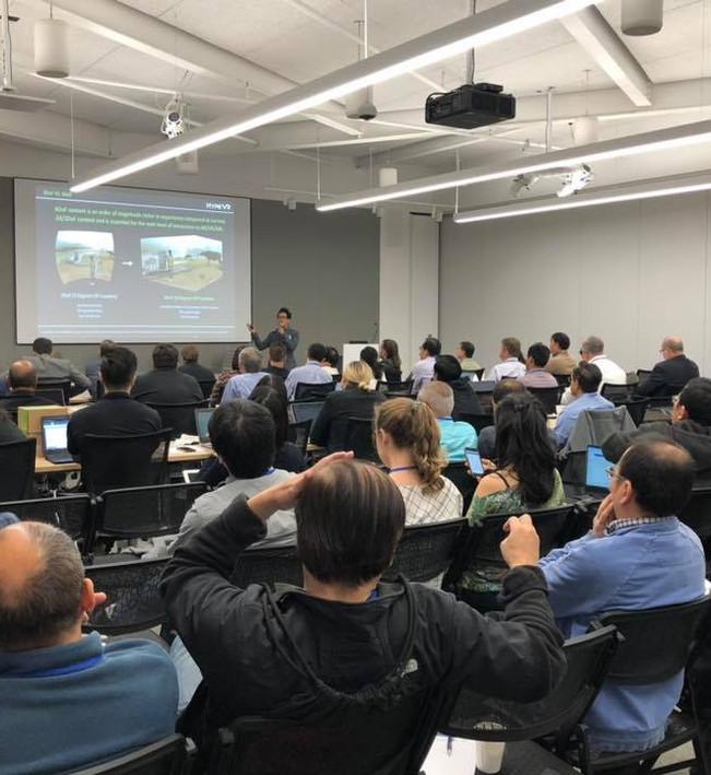 Tonaci presenting at NVIDIA