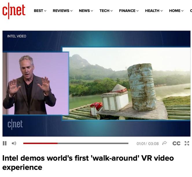 World's First Walk Around Video Debut