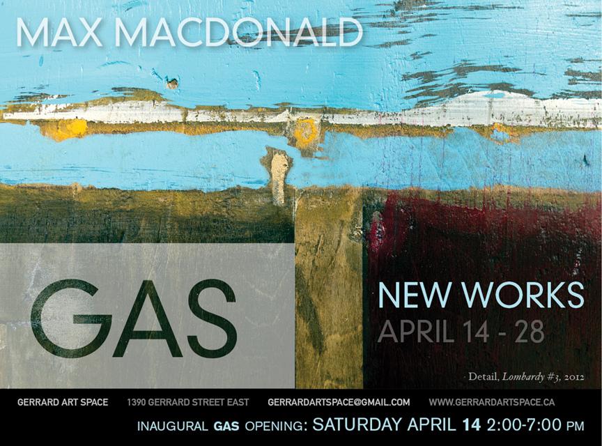 Max MacDonald New Works 2012