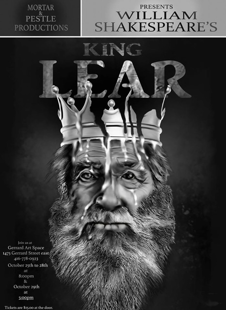 King Lear Poster 2017