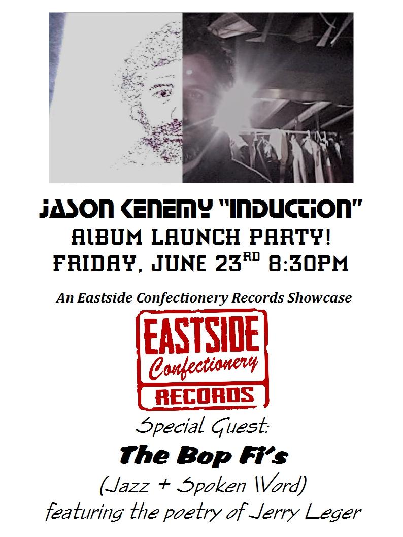 Poster - Jason Kenemy + Bop  Fi's