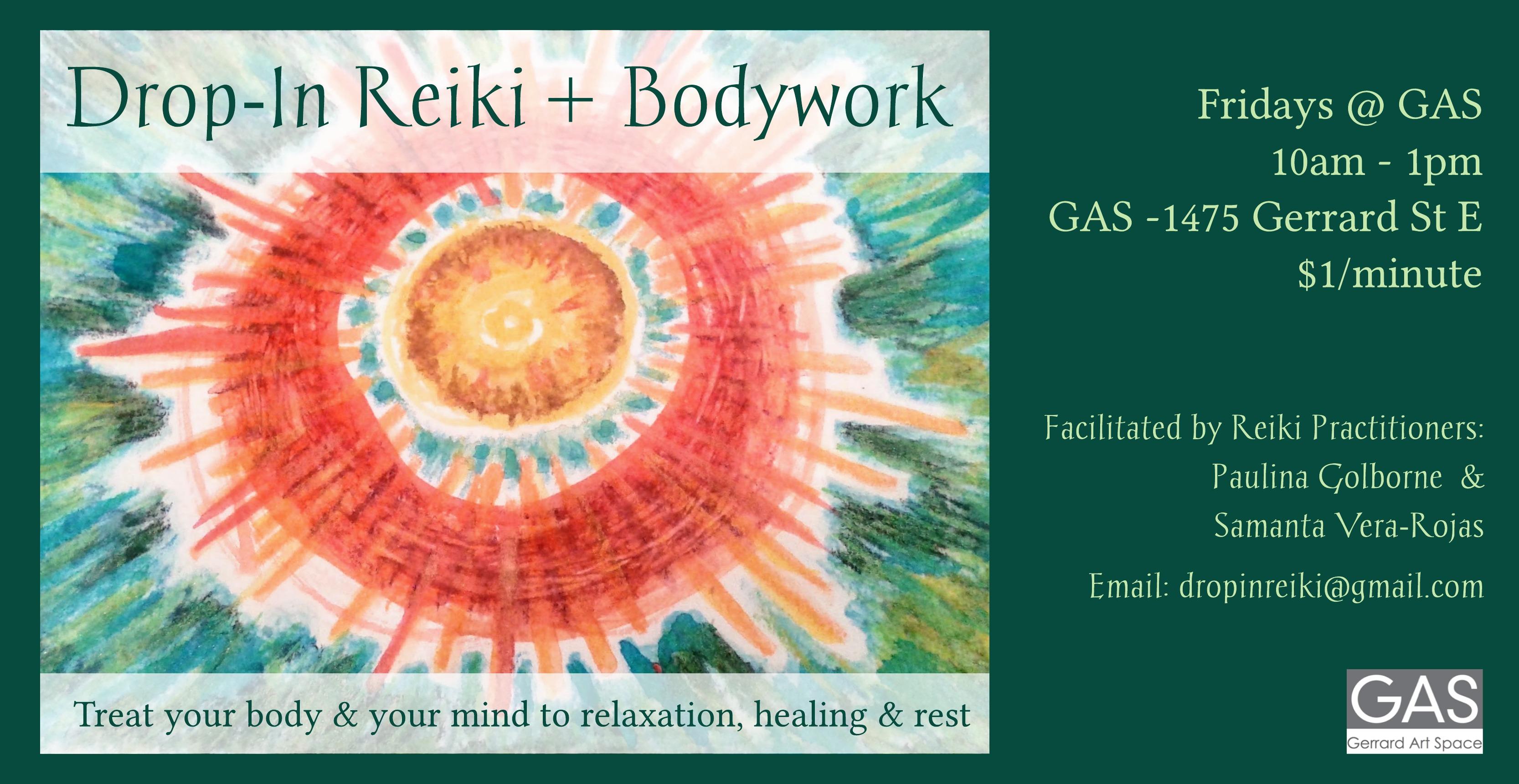 Drop-In Reiki + Bodywork