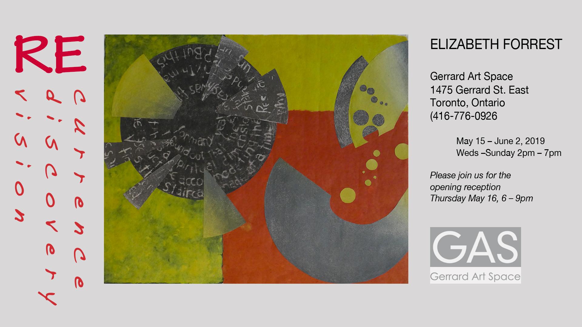 Elizabeth Forrest May 2019 poster