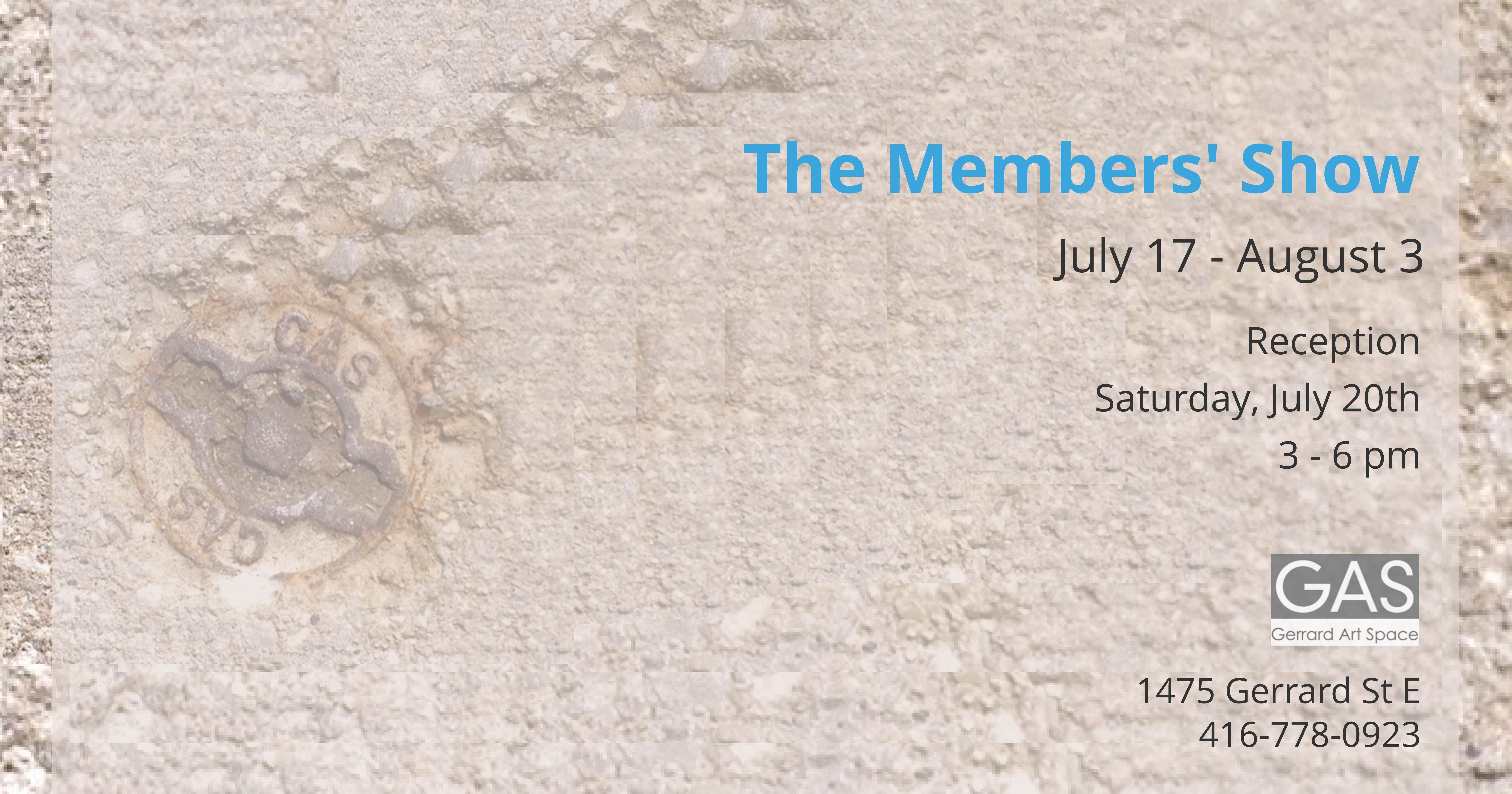 GAS Members' Poster 2019
