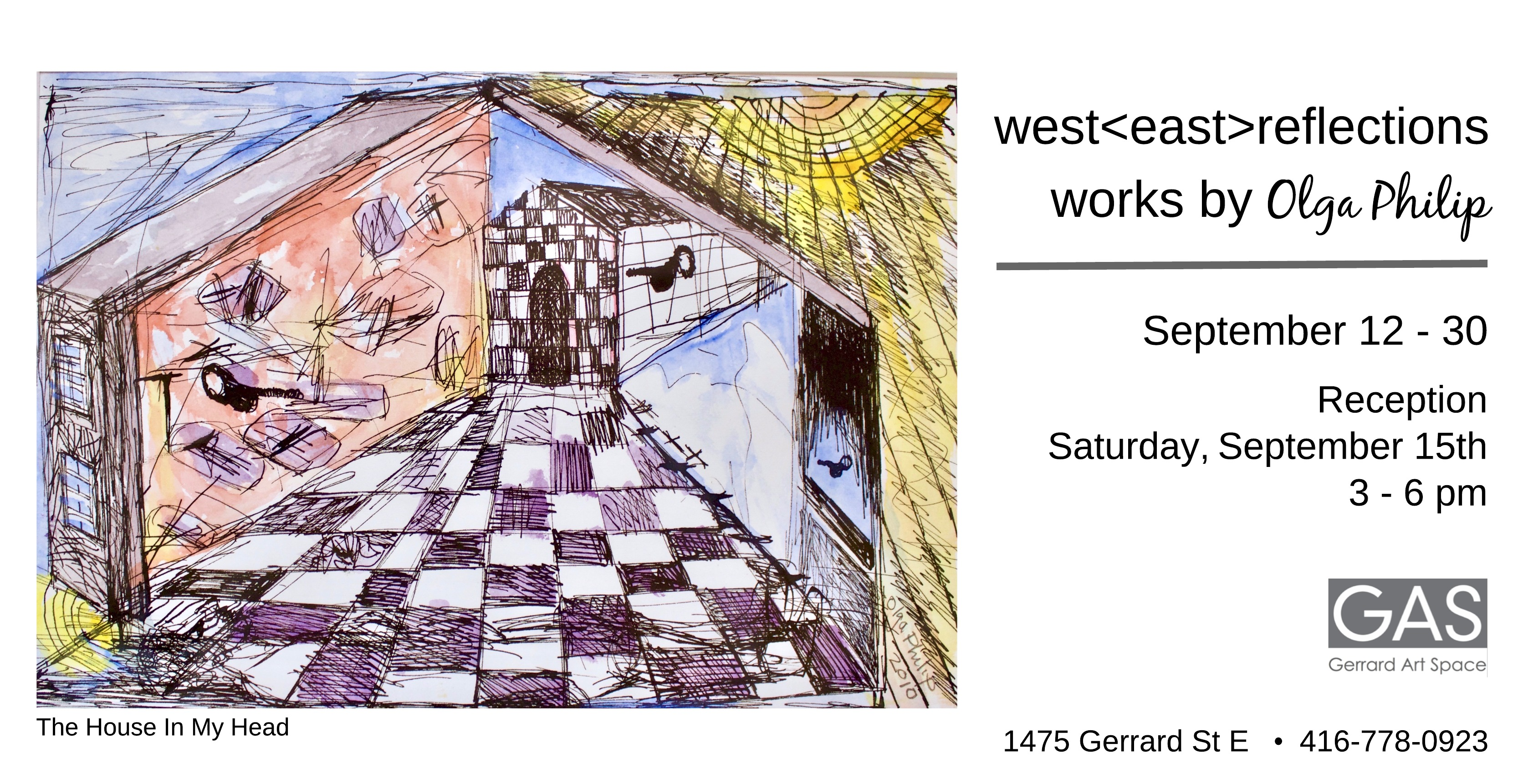 Olga Philip: west<east>reflections