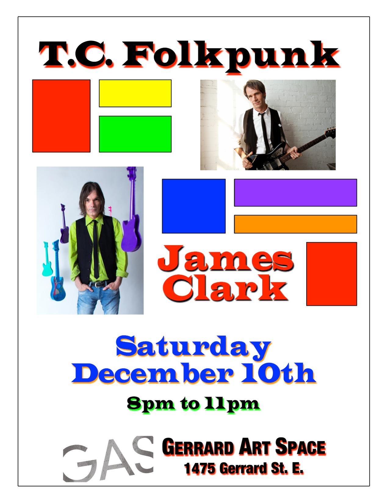 T.C. Folkpunk + James Clark 2016