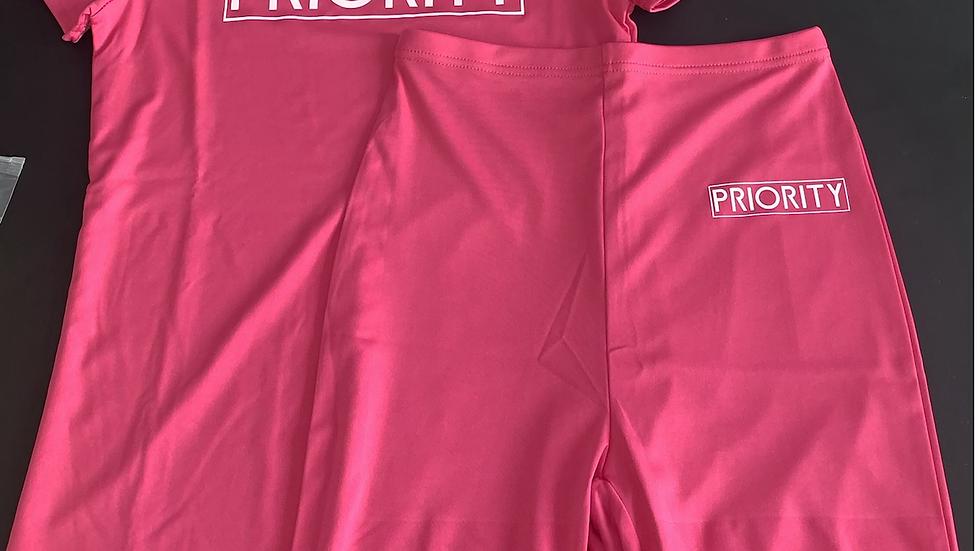 PRIORITY Women's Short Set