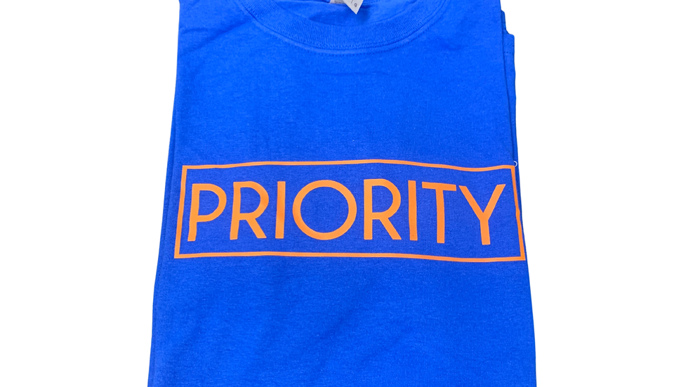PRIORITY T-Shirt : Now and Later Colors