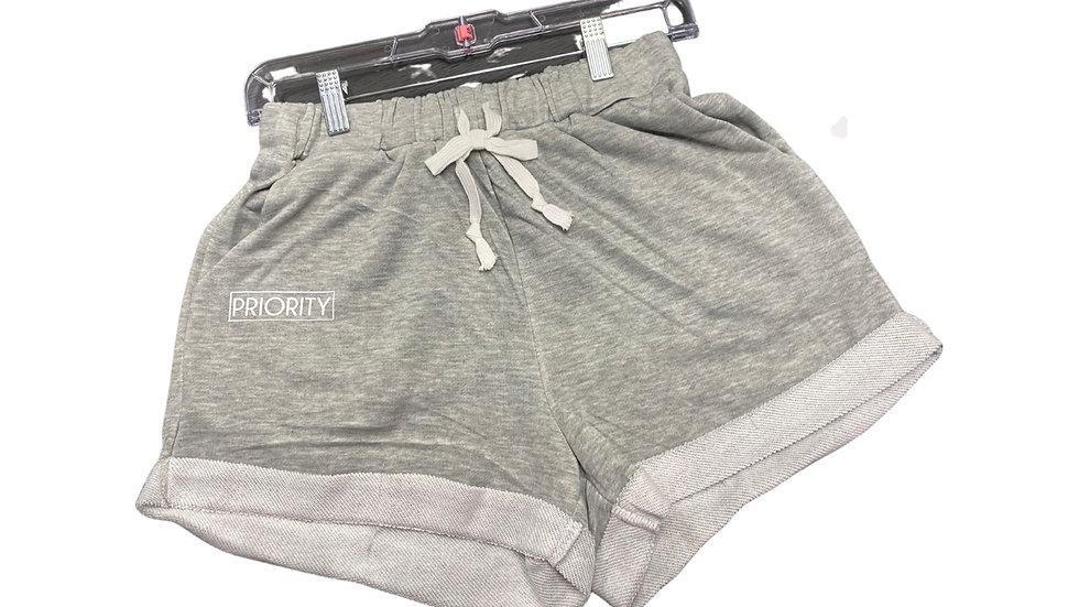 Drawstring Hem Shorts