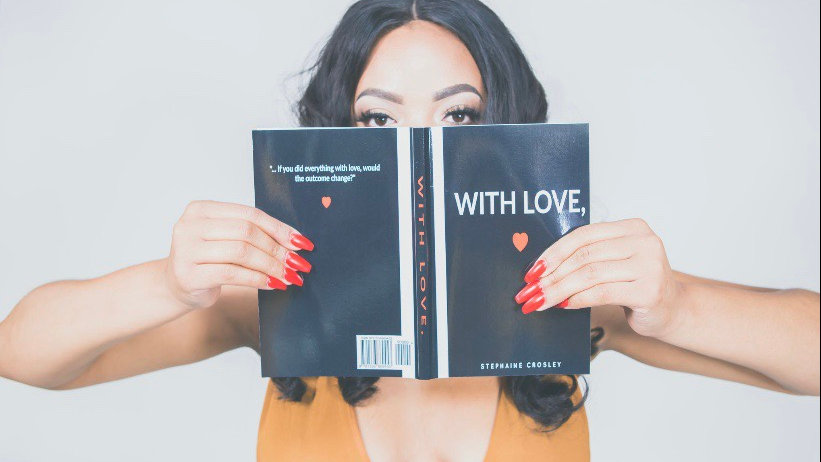 WITH LOVE, : Book