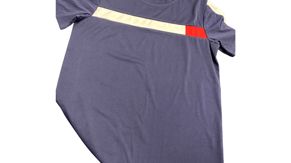 PRIORITY Men's Set: Navy blue , Red and White w| White words
