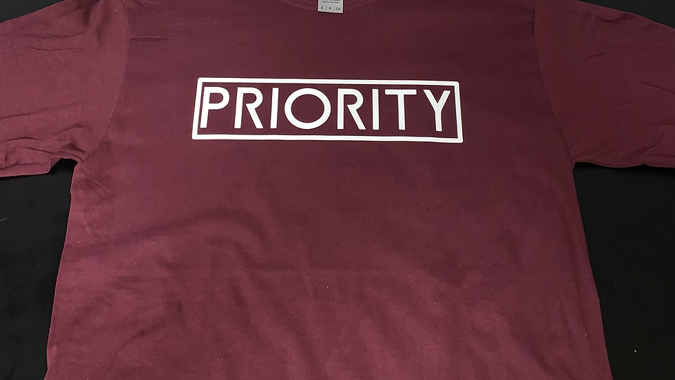 PRIORITY Long Sleeve T-Shirts