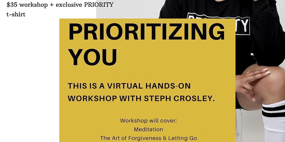 PRIORITIZING YOU Virtual Workshop