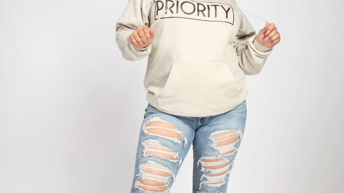 PRIORITY|I MATTER Nude Collection: Hoodie