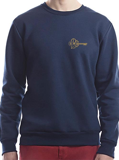 Crewneck Sweater Navy Blue