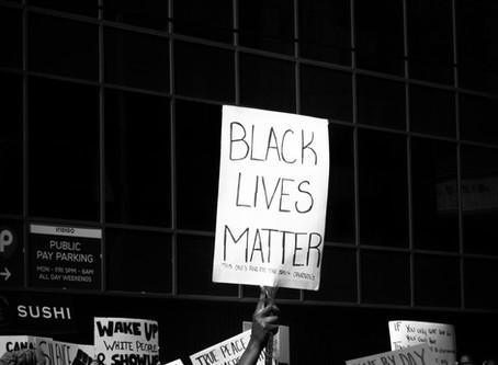 Black lives matter.