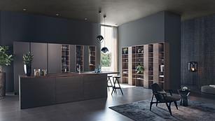 STEEL | CLASSIC-FS | TOPOS. Modern Style Kitchen